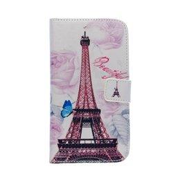 LG G3 Wallet Case Portemonnee Eiffel Paris