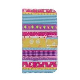 LG G3 Wallet Case Portemonnee Little Flowers