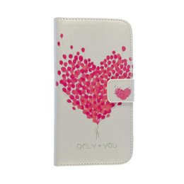 LG G3 Wallet Case Portemonnee Balloon Hearts