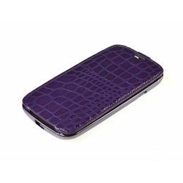 Samsung Galaxy S3 i9300 / i9305 Flip Case Paars