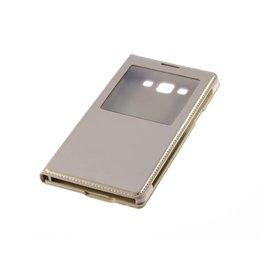S-View Flip Cover Galaxy A7 Goud