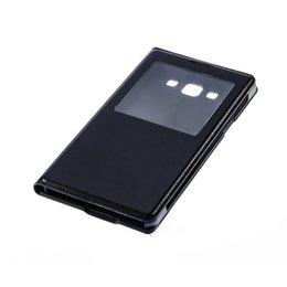 S-View Flip Cover Galaxy A7 Zwart