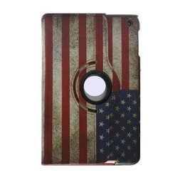 Apple iPad 360 Rotating Case USA Vlag print