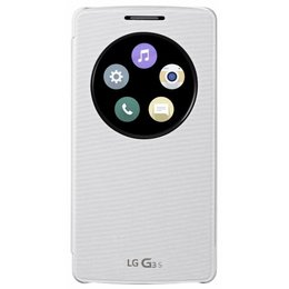 LG G3 S Quick Circle Cover - White