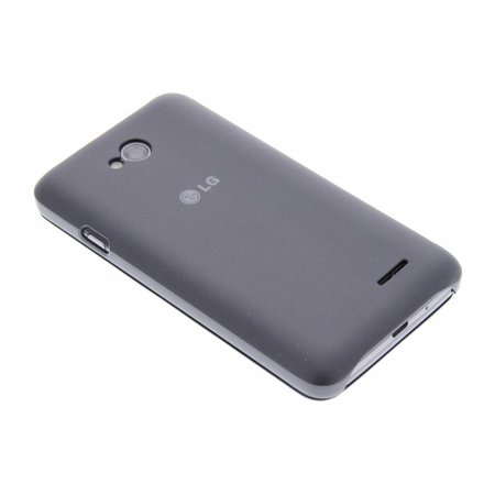 LG Quick Window Case Zwart voor de LG L70 / L65