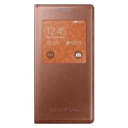 Samsung Originele S-View Cover voor de Galaxy S5 Mini - Gold