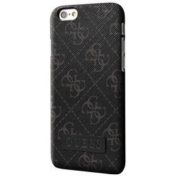GUESS iPhone 6 Plus / iPhone 6S Plus Hard Case - Zwart