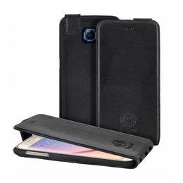 Bugatti Flip Case Amsterdam voor de Samsung Galaxy S6 - Zwart