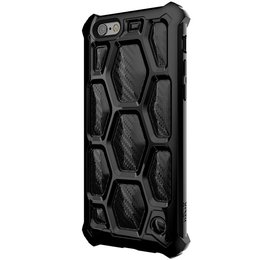 SwitchEasy 3D Military Spec Drop Proof Case voor iPhone 6 / 6S - Zwart
