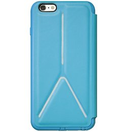 SwitchEasy Rave Book Case Cover voor iPhone 6 / 6S Blauw