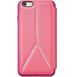 SwitchEasy Rave Book Case Cover voor iPhone 6 / 6S Roze