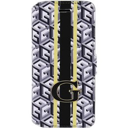 GUESS iPhone 6 / 6S G-Cube Bookcase Telefoonhoesje - Zwart