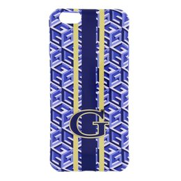 GUESS iPhone 6 / 6S G-Cube TPU Case - Blauw