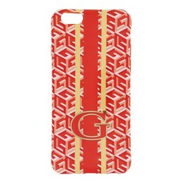 GUESS G-Cube TPU Case voor Apple iPhone 6 / 6S - Oranje
