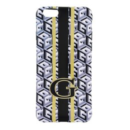 GUESS iPhone 6 / 6S G-Cube TPU Case - Zwart