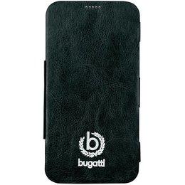 Bugatti Book Case Geneva voor Samsung Galaxy S5 / S5 Plus / S5 Neo - Zwart
