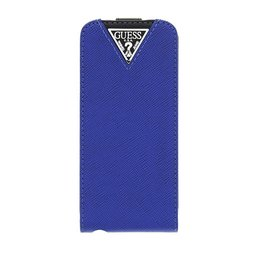 GUESS iPhone 5 / 5S / SE Collection Couture Flip Case - Blauw