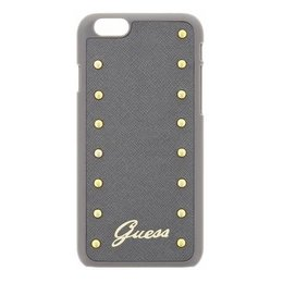 GUESS Apple iPhone 6 Plus / iPhone 6S Plus Studded Hard Case Grijs