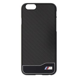 BMW iPhone 6 / 6S M Collection Karbon-Look - Zwart