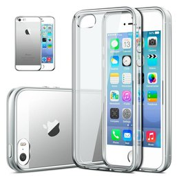 0.3MM TPU Ultra Dun Back Cover Beschermhoes Voor Apple iPhone SE / 5 / 5S