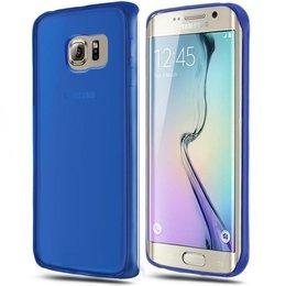 0.3MM TPU Ultra Dun Back Cover Beschermhoes voor Samsung Galaxy S6 Edge Plus