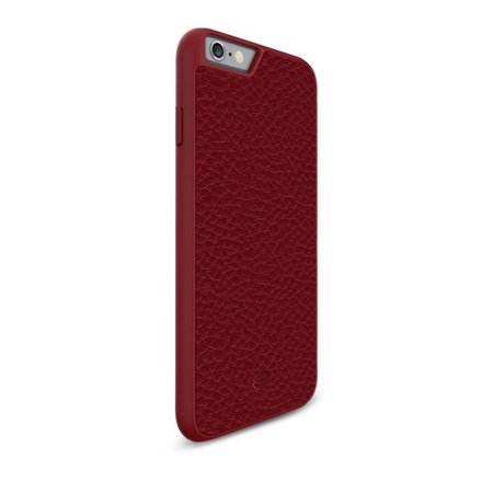 Beyzacases Apple iPhone 6 / 6s ClipOnCover Echt Leder Rood