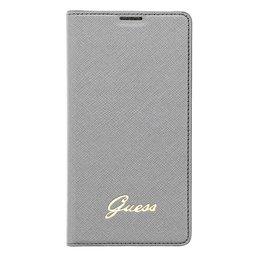 GUESS Tori Flip Case Bookcase voor Samsung Galaxy S5 / S5 Plus / S5 Neo - Silver