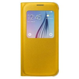 Samsung Originele S-View Cover Galaxy S6 - EF-CG920PY - Yellow