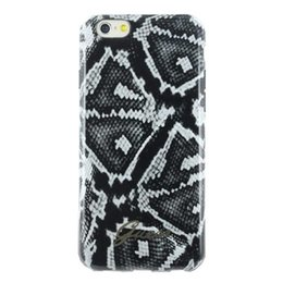 GUESS Apple iPhone 6 / 6S Phyton Black TPU Hoesje Zwart