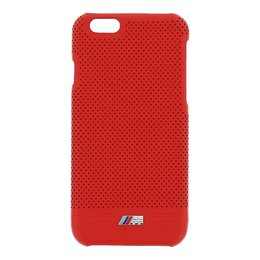 BMW iPhone 6 / 6S M Sport Lederen Hardcase - Rood