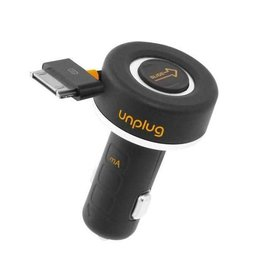 UnPlug USB Auto Lader 1000mAh voor iPhone en iPod
