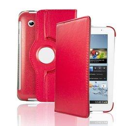 Samsung Galaxy Tab 2 7.0 inch Rotating Case - Rood