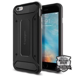 Spigen Apple iPhone 6 / 6S Neo Hybrid Carbon Hoesje - SGP11621 - Gunmetal