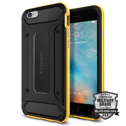 Spigen Apple iPhone 6 / 6S Neo Hybrid Carbon Case Hoesje - SGP11622 - Reventon Yellow