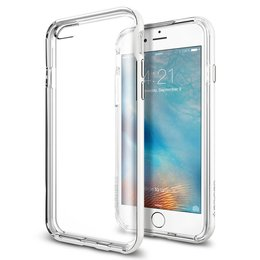 Spigen Apple iPhone 6 / 6S Neo Hybrid EX Case Hoesje - SGP11626 - Shimmery White