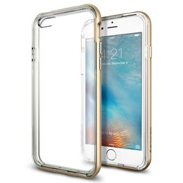 Spigen Apple iPhone 6 / 6S Neo Hybrid EX Case Hoesje - SGP11624 - Champagne Gold