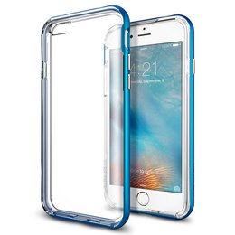 Spigen Apple iPhone 6 / 6S Neo Hybrid EX Case Hoesje - SGP11625 - Electric Blue