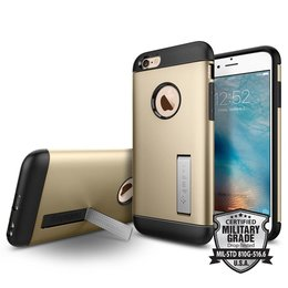 Spigen Apple iPhone 6 / 6S Slim Armor Backcover Hoesje - SGP11607 - Champagne Gold