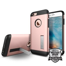 Spigen Apple iPhone 6 / 6S Slim Armor Backcover Hoesje - SGP11723 - Rose Gold