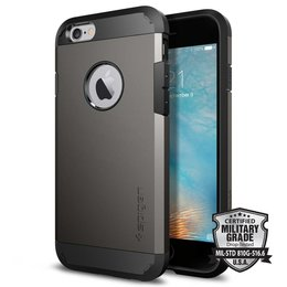 Spigen Apple iPhone 6 / 6S Tough Armor Backcover Hoesje - SGP11612 - Gunmetal