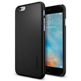 Spigen Apple iPhone 6 / 6S Thin Fit Hoesje SGP11592 - Zwart
