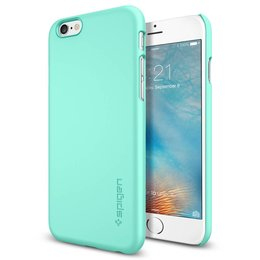 Spigen Apple iPhone 6 / 6S Thin Fit Hoesje SGP11593 - Mint