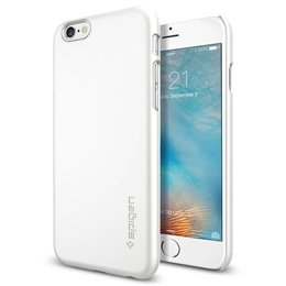 Spigen Apple iPhone 6 / 6S Thin Fit Hoesje SGP11594 - Shimmery White
