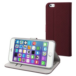 Muvit Apple iPhone 6(S) Plus Elegant Wallet Case Bruin