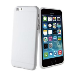 Muvit Apple iPhone 6(S) Plus ThinGel Back Cover Hoesje Wit