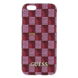 GUESS iPhone 6 / 6S Jet Set Hard Case Hoesje - Roze