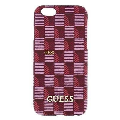 GUESS iPhone 6 / 6S Jet Set Hard Case Hoesje - Roze