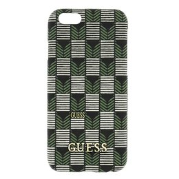 GUESS iPhone 6 / 6S Jet Set Hard Case Hoesje - Groen