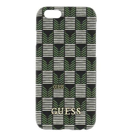 GUESS iPhone 6 / 6S Jet Set Hard Case Hoesje - Groen