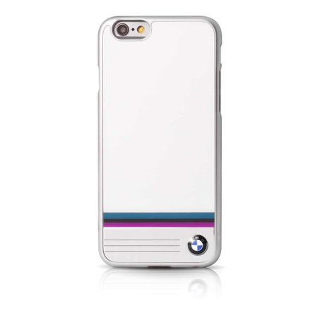 BMW Collection Hard Back Cover Aluminium Hoesje Wit voor iPhone 6 / 6S
